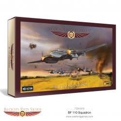 EXPANSIÓN BLOOD RED SKIES BF 110 SQUADRON DE WARLORD GAMES