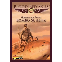 EXPANSIÓN BLOOD RED SKIES BF 110 ACE BOMBO SCHENK DE WARLORD GAMES