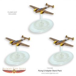 EXPANSIÓN BLOOD RED SKIES BRS FLYING STAND AND ADAPTOR PACK DE WARLORD GAMES