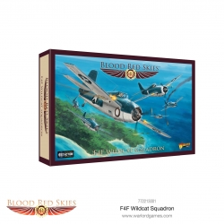 EXPANSIÓN BLOOD RED SKIES F4F WILDCAT SQUADRON DE WARLORD GAMES