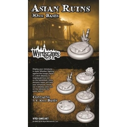 ACESSORIO ASIAN RUINS 30 MM WYRDSCAPES DE WYRD MALIFAUX REFERENCIA WYRWS010