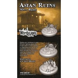 ACCESORIE ASIAN RUINS 40MM WYRDSCAPES FROM WYRD MALIFAUX REFERENCE WYRWS011