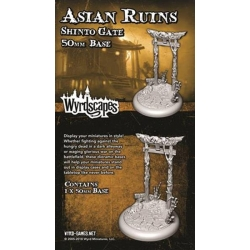 ACESSORIO ASIAN RUINS 50MM WYRDSCAPES DE WYRD MALIFAUX REFERENCIA WYRWS012