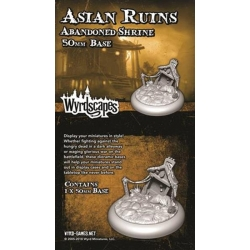 ACCESORIE ASIAN RUINS 50MM SHINTO GATE FROM WYRD MALIFAUX REFERENCE WYRWS013