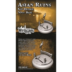 ACESSORIO ASIAN RUINS 50MM BRIDGE DE WYRD MALIFAUX REFERENCIA WYRWS014