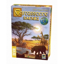 Board game Carcassonne Safari Limited Edition Devir