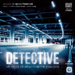 Intriguing board game Detective by Maldito Games