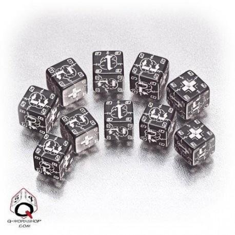 Qw Dados Ww2 D6 German Negro (10)