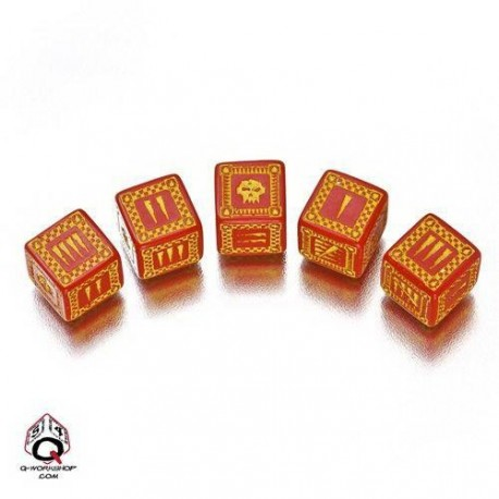Qw Dados D6 Orco Rojo (5)