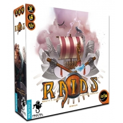 Viking table Raids from iello and TCG Factory