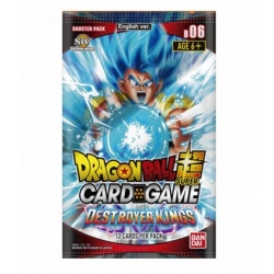 JUEGO DE CARTAS DRAGON BALL TCG SOBRES FACE DESTROYER (24) (INGLÉS) DE BANDAI