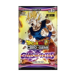 DRAGON BALL TCG THEMED 3 BOOSTER (24) (ENGLISH)