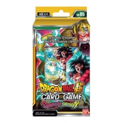 DRAGON BALL TCG CRIMSON SAIYAN DECK (6)