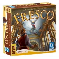 Table game Fresco from the company Queen Games and Devir