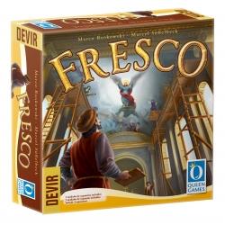 Juego de mesa Fresco de la marca Queen Games y Devir