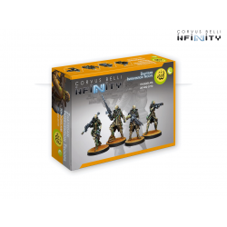 Haqqislam Zhayedan Intervention Troops Infinity from Corvus Belli reference 281402-0770