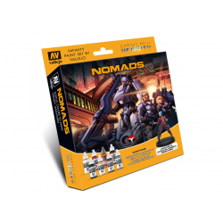 Model Color Set: Infinity Nomads Exclusive Miniature Nomads Infinity by Corvus Belli reference 70233