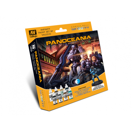 Model Color Set: Infinity Panoceania Exclusive Miniature Infinity de Corvus Belli referencia 70231