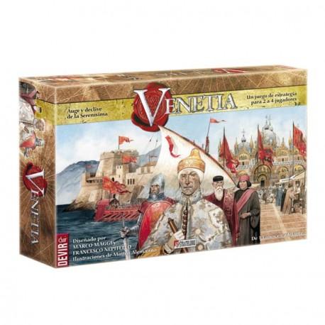 Juego de mesa de la Serenísima república de Venecia. Venetia Devir.