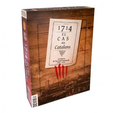 1714, EL CAS DELS CATALANS(CATALAN) TABLE GAME BOX CONTENT