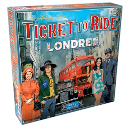 JUEGO DE MESA ¡AVENTUREROS AL TREN! LONDRES DE EDGE ENTERTAINMENT