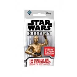 STAR WARS DESTINY. LA CHISPA DE LA ESPERANZA SOBRES DE AMPLIACIÓN (DISPLAY 36 UNIDADES)