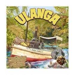 Ulanga Express is a fun board game that will take players for a walk on African rivers