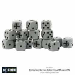 German Balkenkreuz Dice Pack