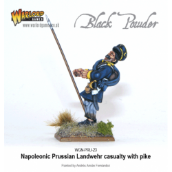 Napoleonic - Prussian Up Daisies - Landwehr Casualties (12)