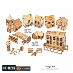 Bolt Action Rural Village Set