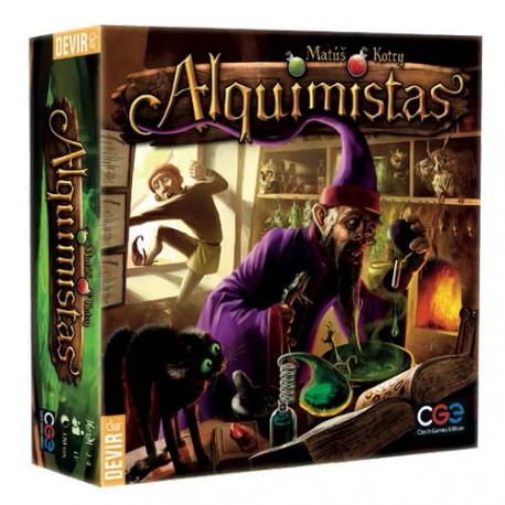 Juego de mesa Alquimistas en el que podrás probar la magia a lo largo de 6 rondas de juego