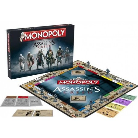 Monopoly Assassins Creed castellano