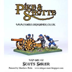 Scots Saker Cannon + Crew