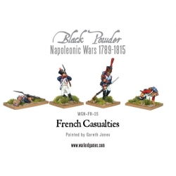 Napoleonic French Line Casualties (12) Black Powder from Warlord Games reference WGN-FR-25