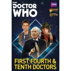 The First, Fourth And Tenth Doctors Doctor Who from Warlord Games reference 602010001