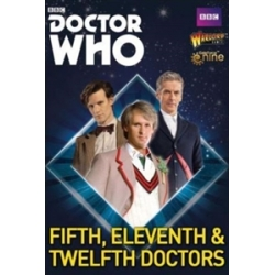 Fifth, Eleventh And Twelfth Doctors Doctor Who from Warlord Games reference 602010002