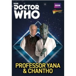 Professor Yana And Chantho Doctor Who from Warlord Games reference 602210220