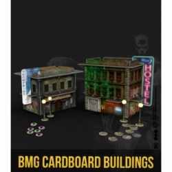 Batman Cardboard Buildings