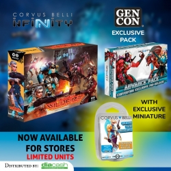 Limited special Infinity Gen-Con Bundle 19 Pack by Corvus Belli