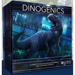 Juego de mesa DinoGenics Edición Kickstarter de Ninth Haven Games