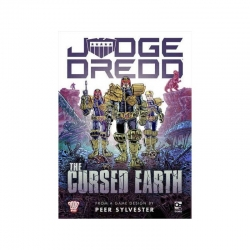 Juego de mesa Judge Dredd: The Cursed Earth (Inglés) de Osprey Games