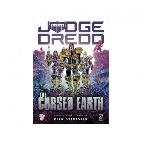 Juego de mesa Judge Dredd: The Cursed Earth (Inglés) de Osprey Games