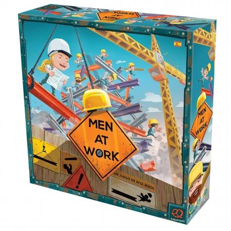 Men At Work es un juego de apilamiento y equilibrio en el que los jugadores compiten como trabajadores