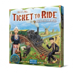Board game Ticket to Ride Expansion Edition Netherlands