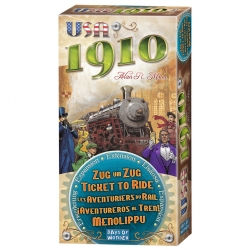 Table game expansion Ticket to Ride - USA 1910