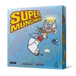 Juego de cartas Súper Munchkin de Edge Entertainment