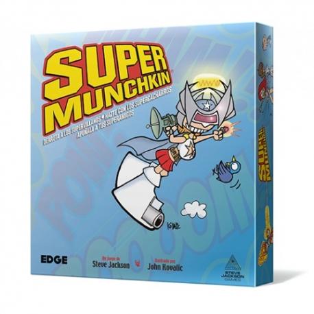 Juego de cartas Súper Munchkin de Edge Entertainment