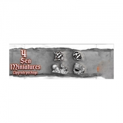 Expansion 4 Sea Miniatures of Skull Tales: Full sail!