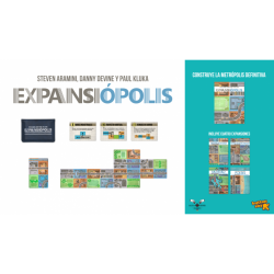 Expansiópolis is a cooperative card game of the same authors as Caravan to the West (Circle the Wagons)