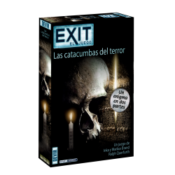 Live an escape room experience in your home with the new game of Devir Exit The Catacombs of Terror